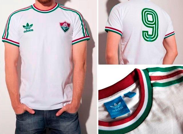 Camisa Fluminense Branca Originals 2015 - R  139 c3b5c0c459a4d