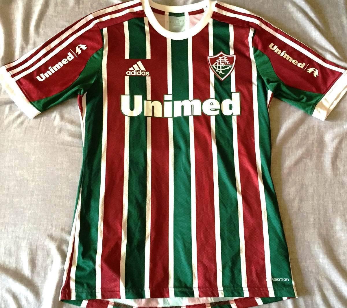 Camisa Fluminense Usada Jogo Brasileirão 2014 Wagner  10 - R  399 8b0879ffaa7a3