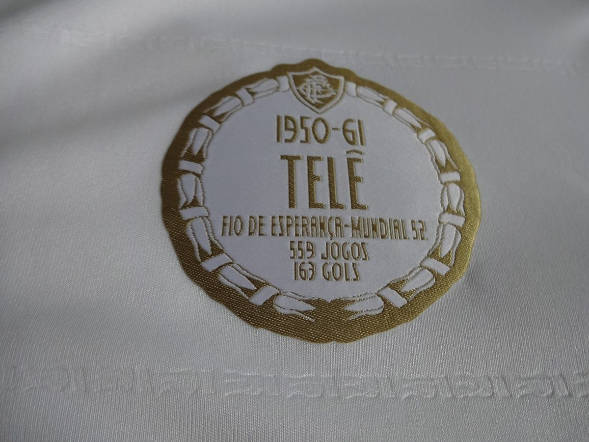 78b45e9757 camisa fluminense comemorativa idolos adidas tele santana 7. Carregando zoom .