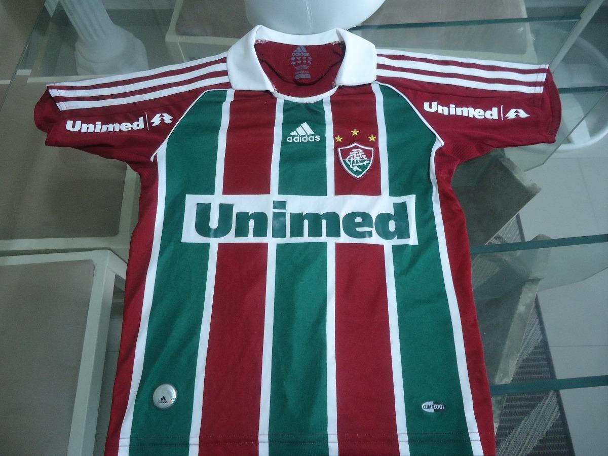 Camisa Fluminense E Shorts adidas   Unimed 2009  10- ( 326 ) - R ... 9832758c76c86