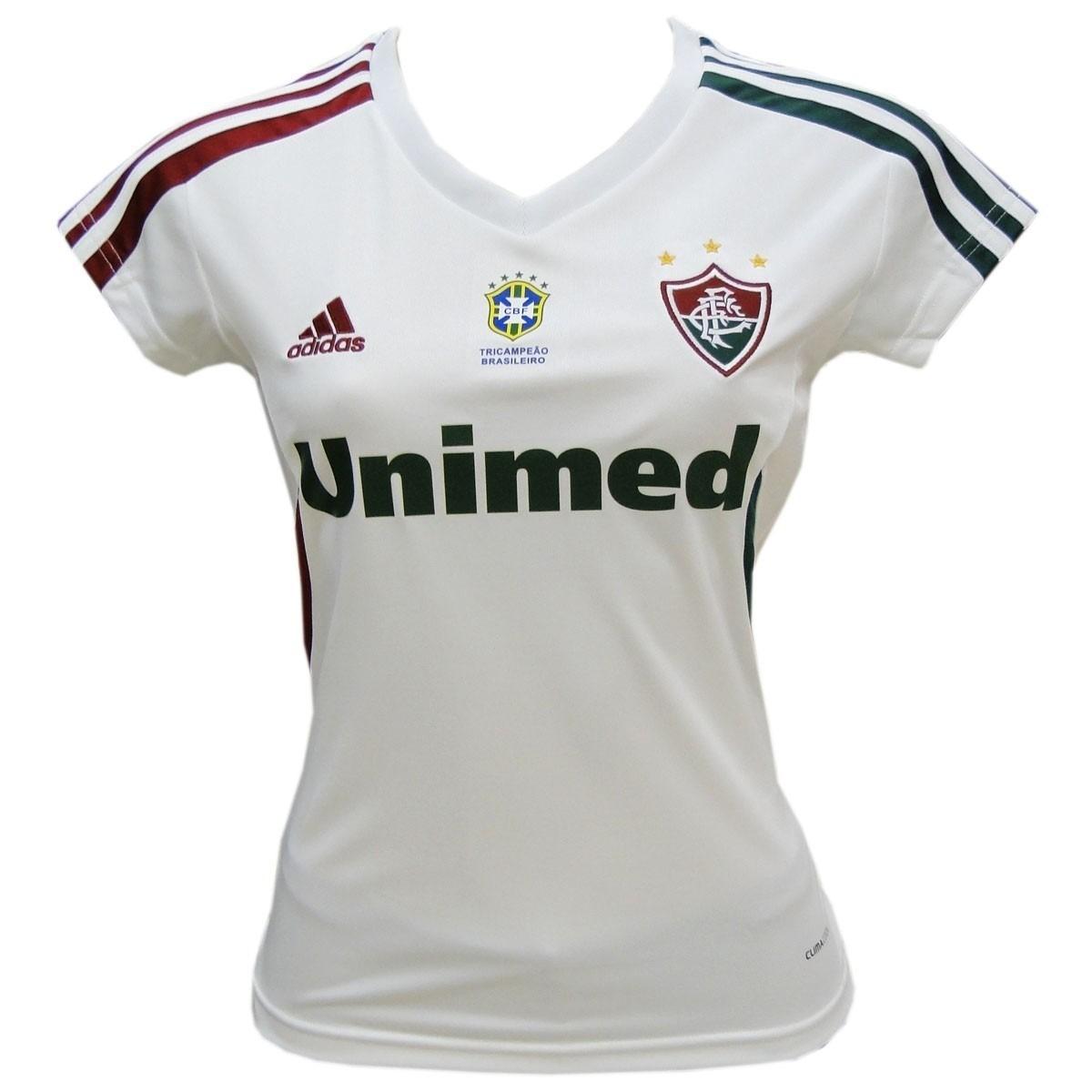 113841c8d7db2 Camisa Fluminense Feminina Tricampeão Brasil 2013 - R  89