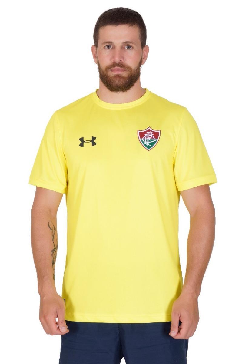 camisa fluminense goleiro amarelo under armour 2018 s nº. Carregando zoom. 9ebb517b928c0
