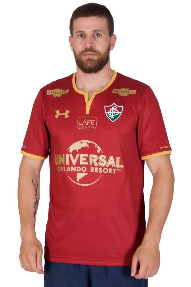 b567a9f557 Camisa Fluminense Grená Under Armour - Nome