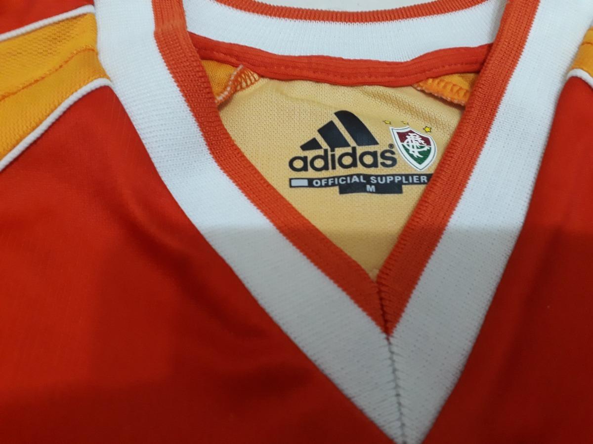 990788839e8db 27681cac10d camisa fluminense laranja adidas 2002 centenário 10 tam m. Carregando  zoom. 974c5b67145 camiseta oficial palmeiras ...