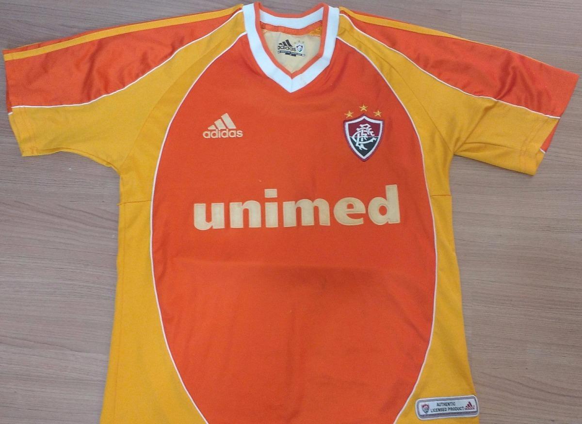 d7aec3249a camisa fluminense laranja centenário 2002 adidas - 02. Carregando zoom.