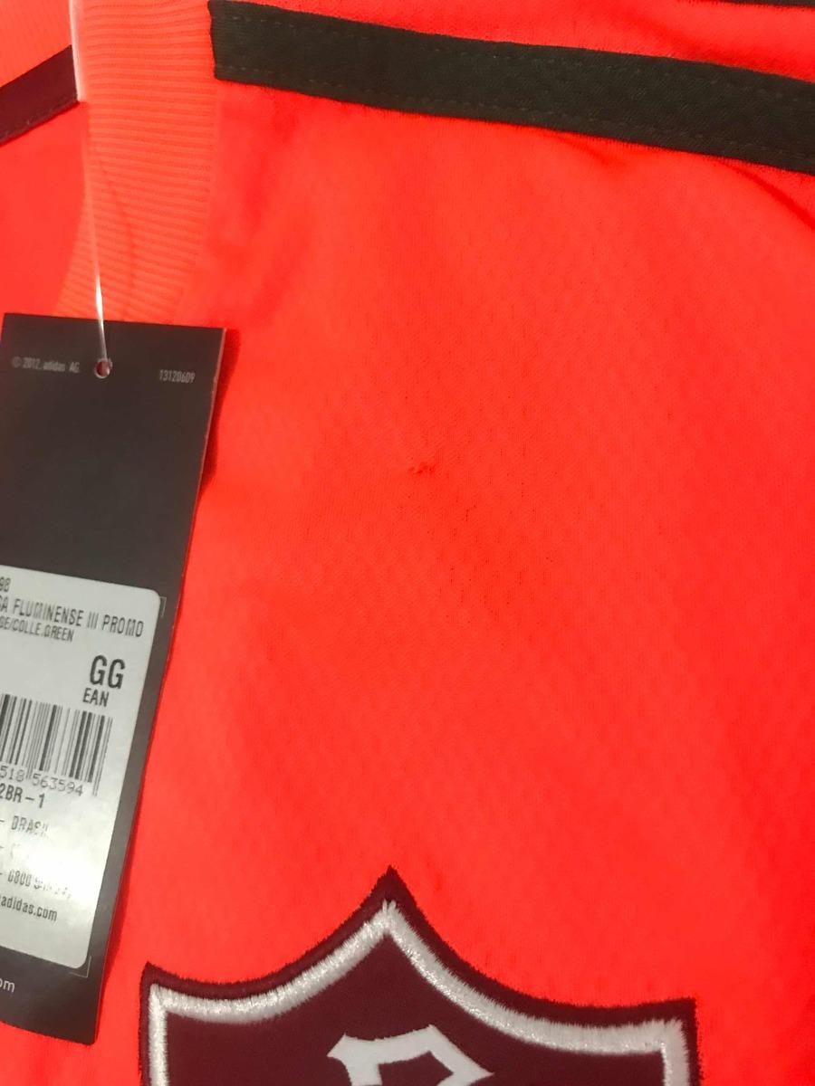 40a37b8f28b79 Carregando zoom. cba6ec30d2e camisa fluminense laranja oficial jogador  adidas xl xg. Carregando zoom.