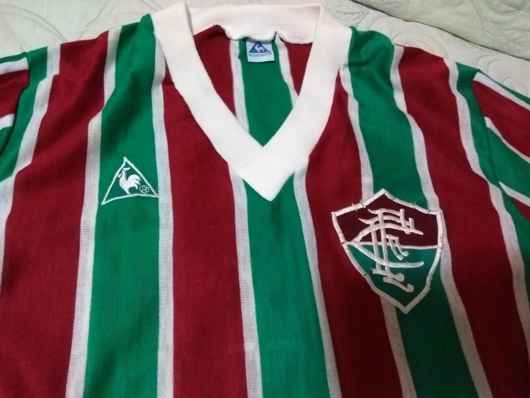 Camisa Fluminense Le Coq 84 85 7df9f89e583bf