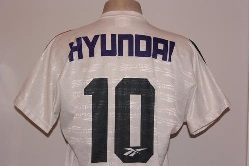 camisa fluminense reebok hyundai 1995 #10 away