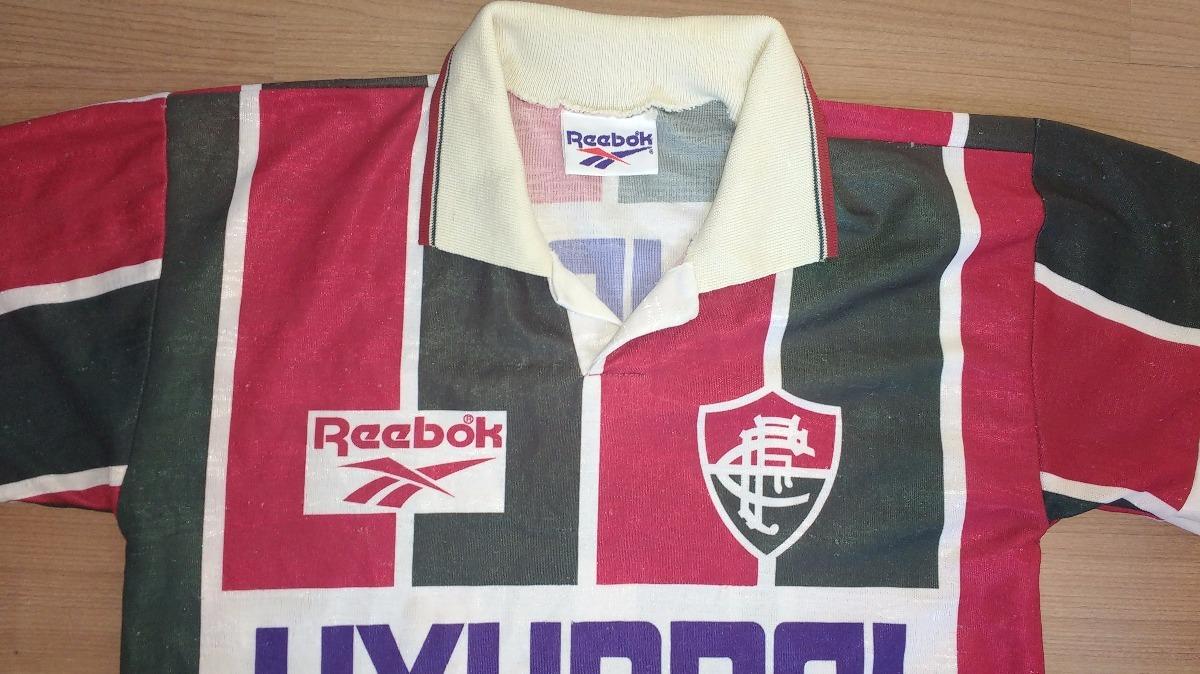 camisa fluminense reebok original campeão carioca 1995 - 95. Carregando  zoom. 9b4ef399cc3ab