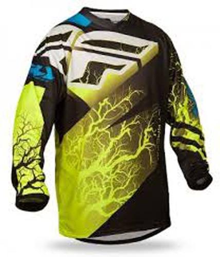 camisa fly f16 ltd preto/verde - g