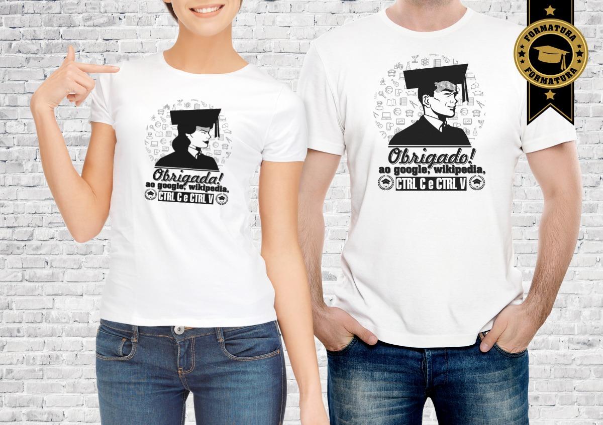 2 camisa formatura obrigado google personalizada. Carregando zoom. 9b3666fea61