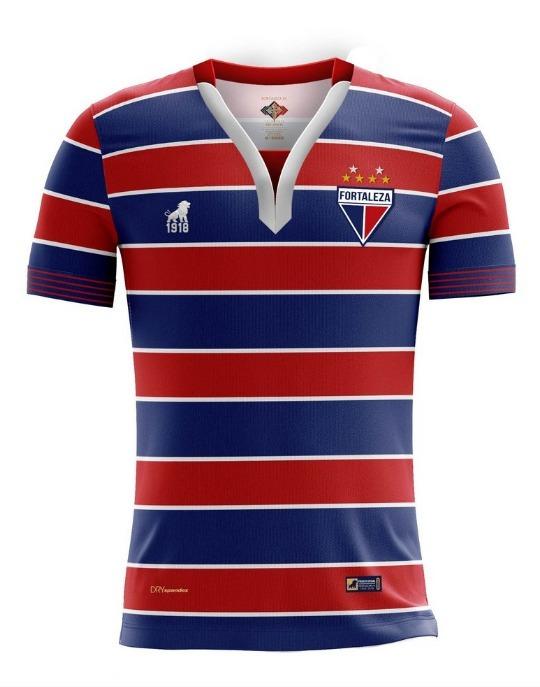 Camisa Fortaleza Oficial Tradição 2018 19 Original - R  199 aab1bd9fd5298
