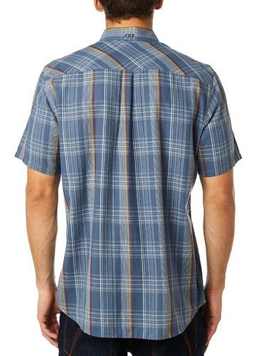 camisa fox rowher work