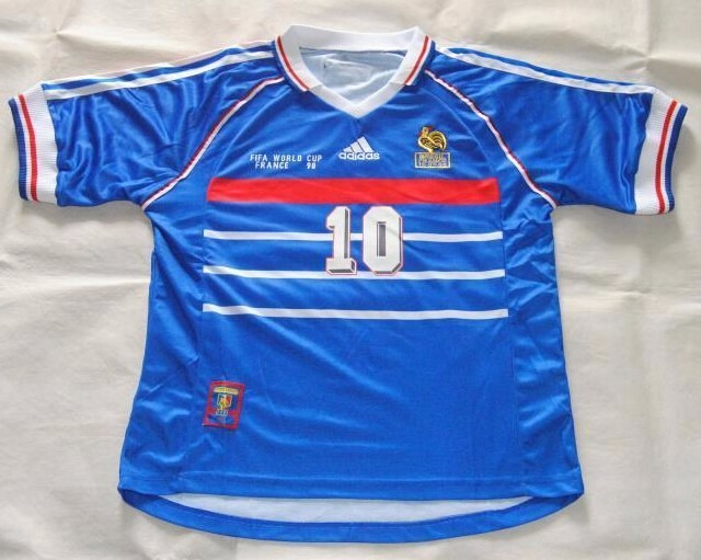 f738e77b0c3df Camisa França 1998 - Zidane