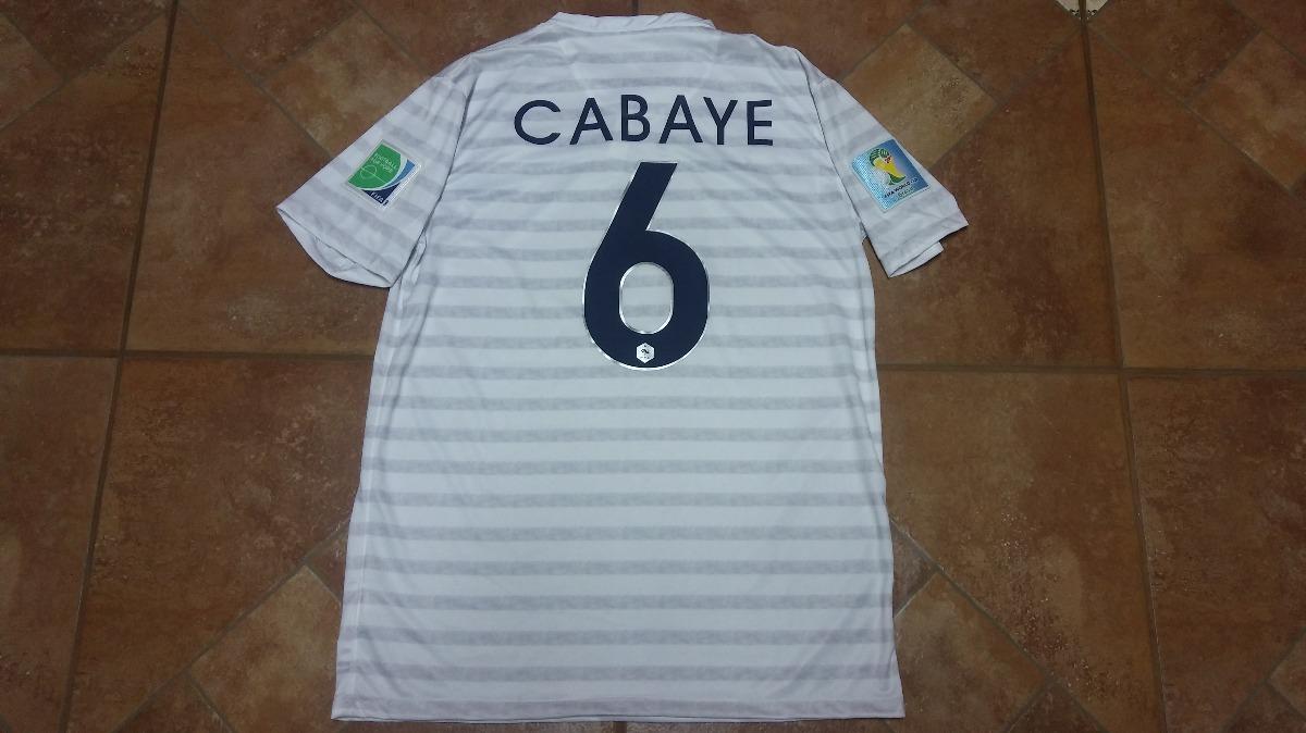 Camisa França -   6 Cabayet Copa Do Mundo 2014  - R  120 43298fb52c4ff
