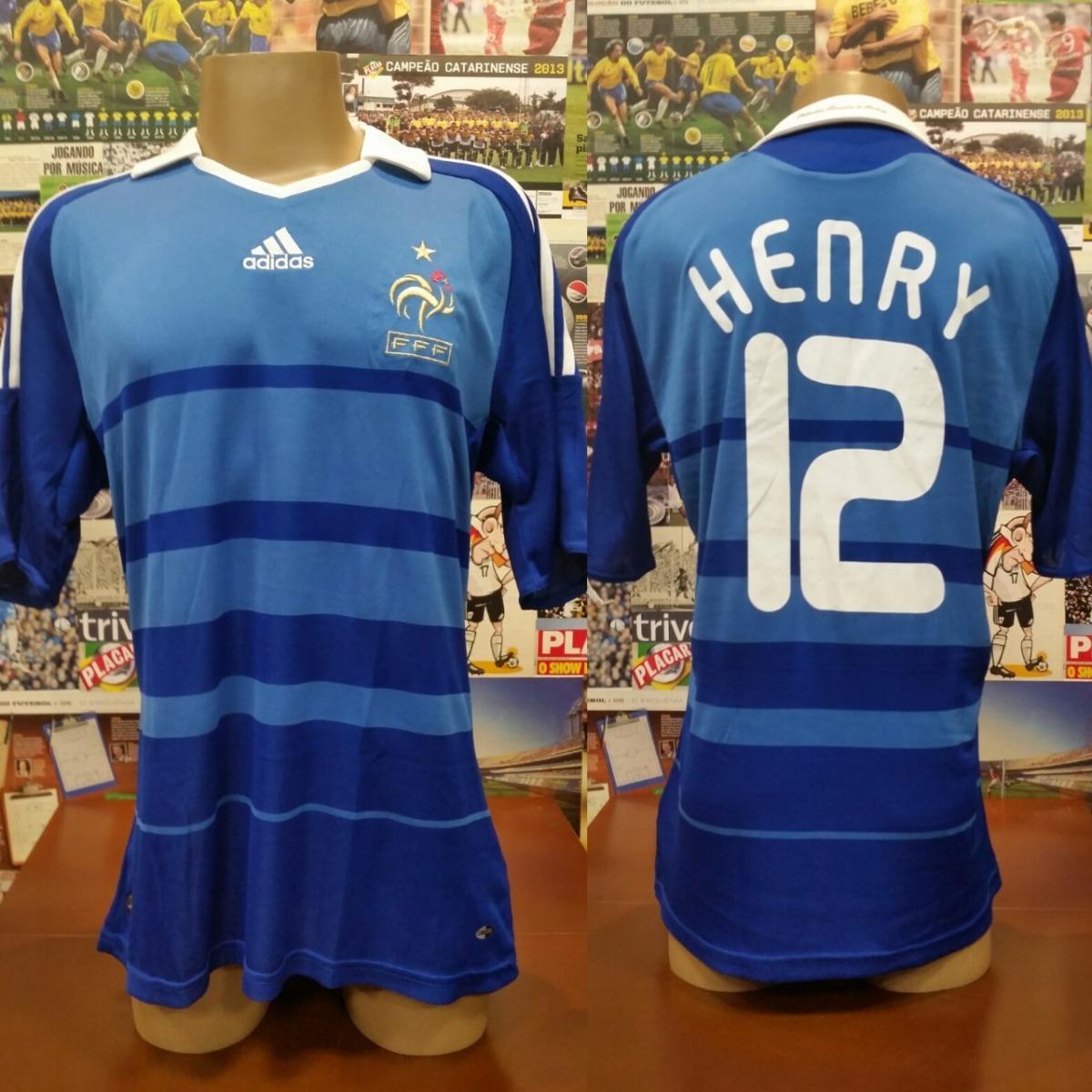 Camisa França - adidas -  12 Henry - 2008   2009 - G - R  230 e4739b5f08e57