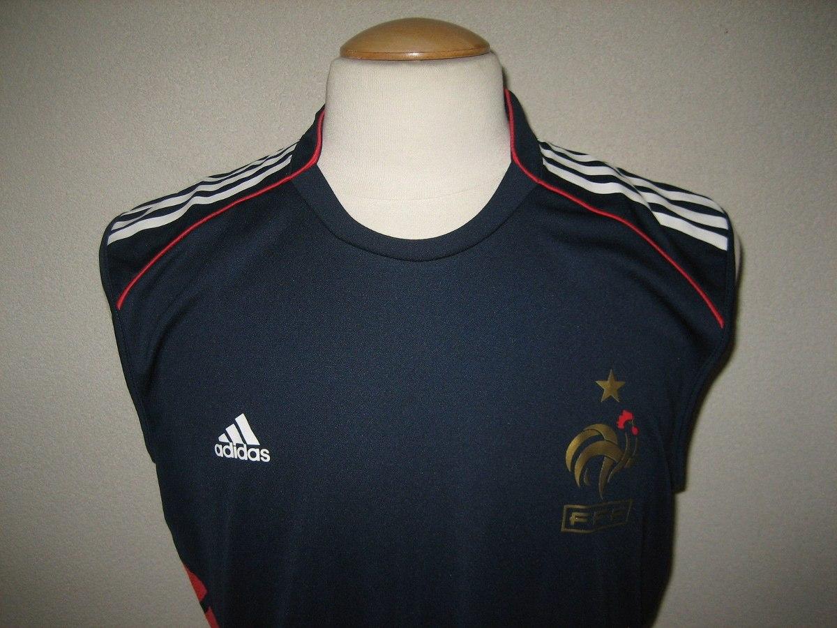 camisa frança adidas treino euro 2008 austria suica. Carregando zoom. 8765224573377