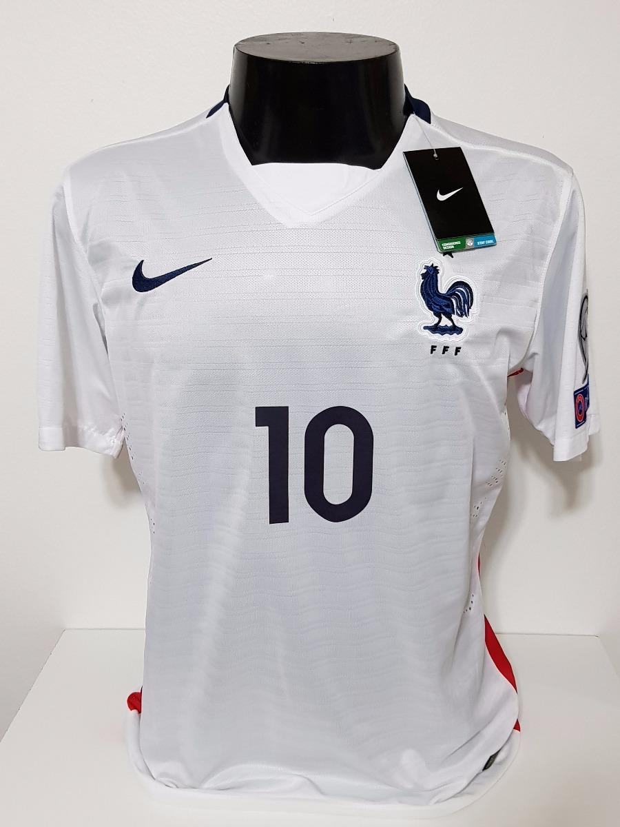 18eff688ccc11 Camisa França Away 15-16 Benzema 10 Versão Jogador Importada - R ...