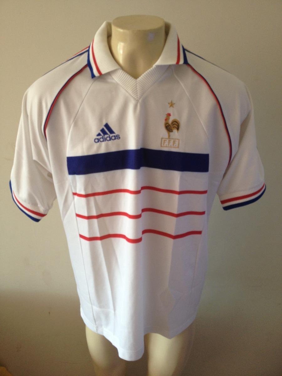 Camisa França Campea Copa Do Mundo 1998 adidas - Raridade - R  300 ... 6805783233527