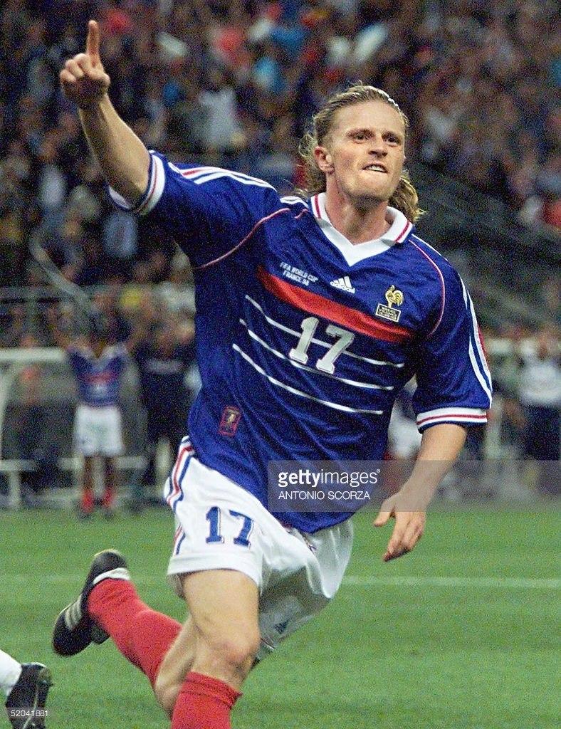 2d99782b30d13 Camisa França Copa Do Mundo 1998 Petit 17 - R$ 229,00 em Mercado Livre