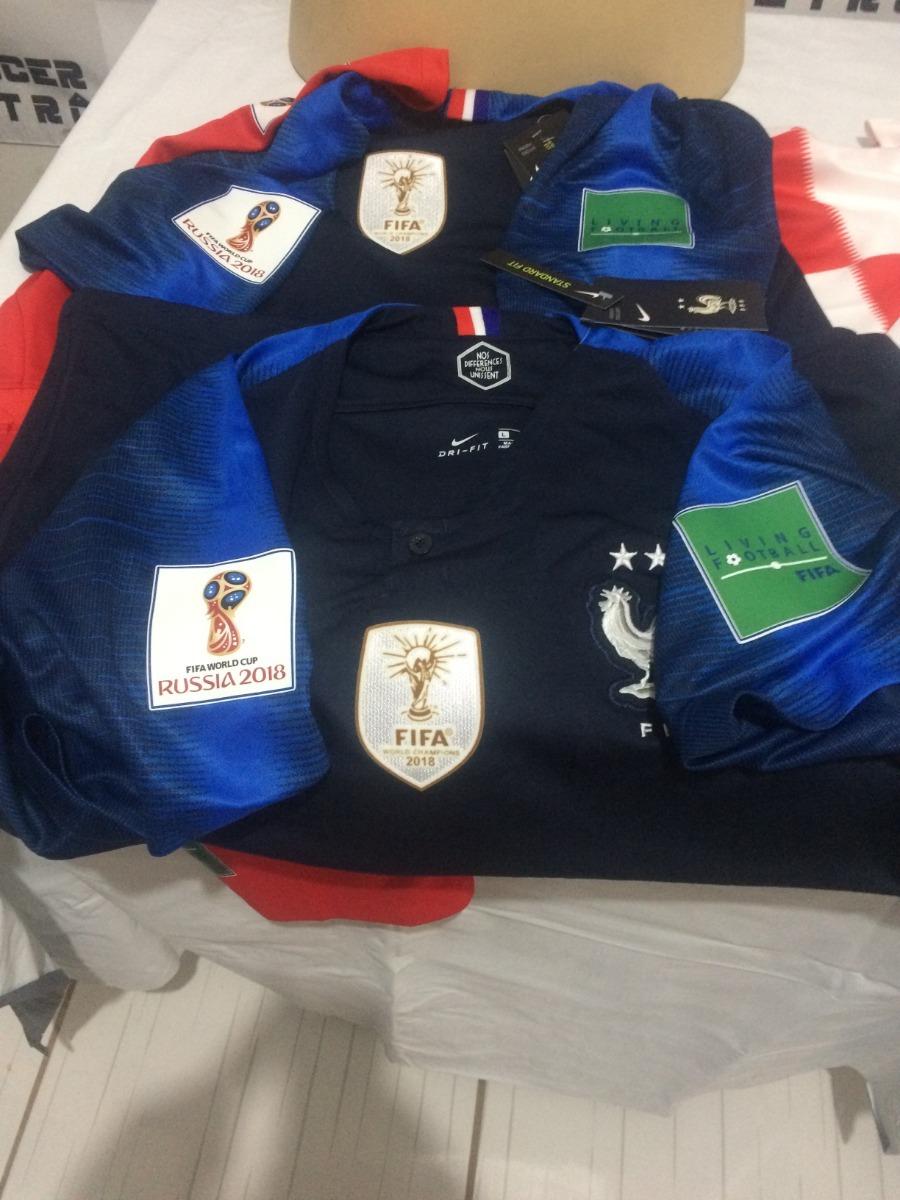 camisa frança copa do mundo 2018 griezmann 7. Carregando zoom. b412ff8cb4331