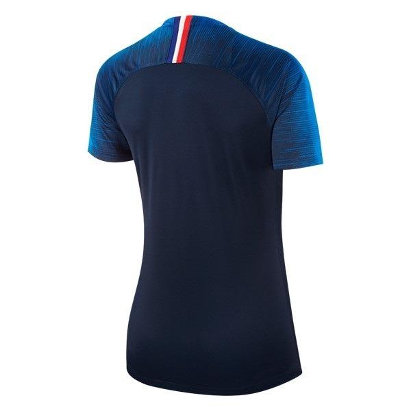 Camisa França - Uniforme 1 Feminina - 2018 - Frete Grátis - R  125 ... 124b3668185ee
