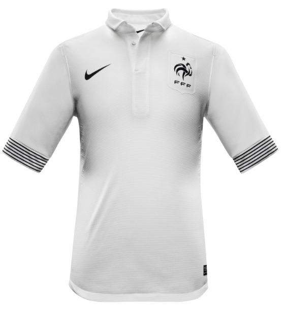 30f12541c Camisa França Fff Away Euro 2012 Nike - Original - R  120