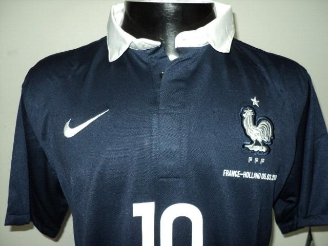 Camisa França Home 14-15 Benzema 10 Amistoso Vs Holanda - R  149 935e4c57fa248
