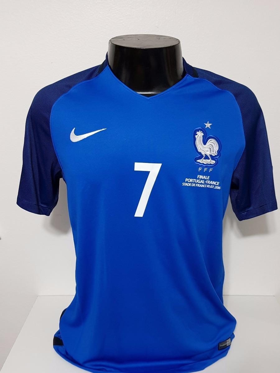 5785252ae4c14 Camisa França Home 16-17 Griezmann 7 Final Euro Importada - R  160 ...