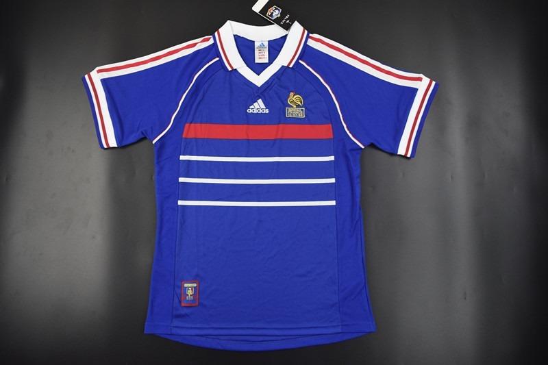 1105177f64 camisa frança retrô copa 1998. Carregando zoom.
