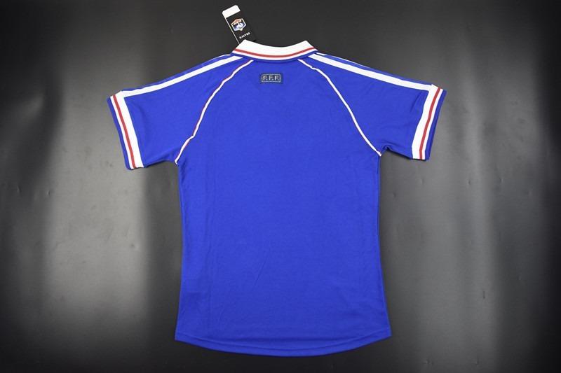 36ed576922 camisa frança retrô copa 1998. Carregando zoom.