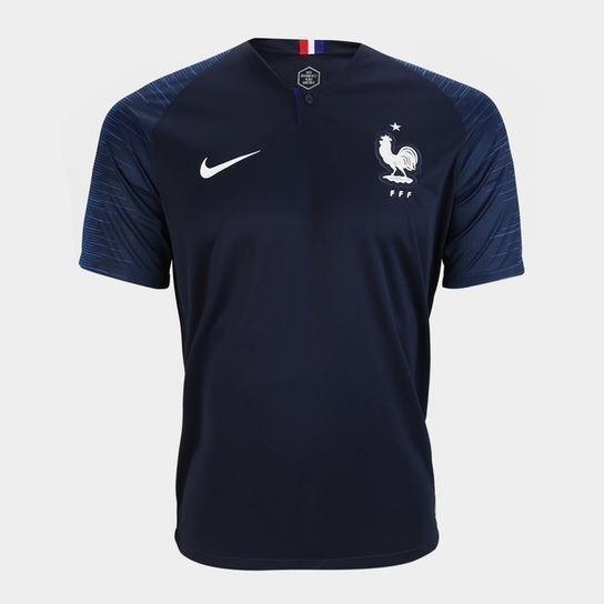 260cdeb7d Camisa Original Da França Nova Seleção Francesa Lançamento - R  139 ...