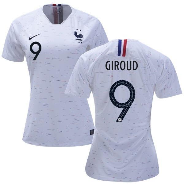 Camisa França - Uniforme 2 Feminina - 2018 - Frete Grátis - R  149 ... 0e03b8c708edb