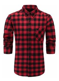 Camisa Talla Franela Hombre Camisa Franela L 2DEWH9YeI
