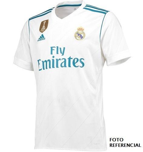 da87300a9adc8 Camisa Franela Real Madrid 2017 2018 Local Sin Dorsal - Bs. 45