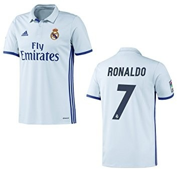 Camisa Franela Real Madrid Local 2016 2017 Cr7 Sergio Ramos - Bs ... 1a1dbaeed2ac7