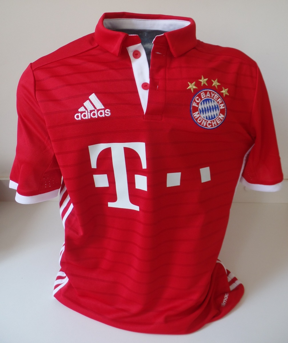 ce91f1fc28e56 camisa futebol adidas nova - fc bayern munique - infantil. Carregando zoom.