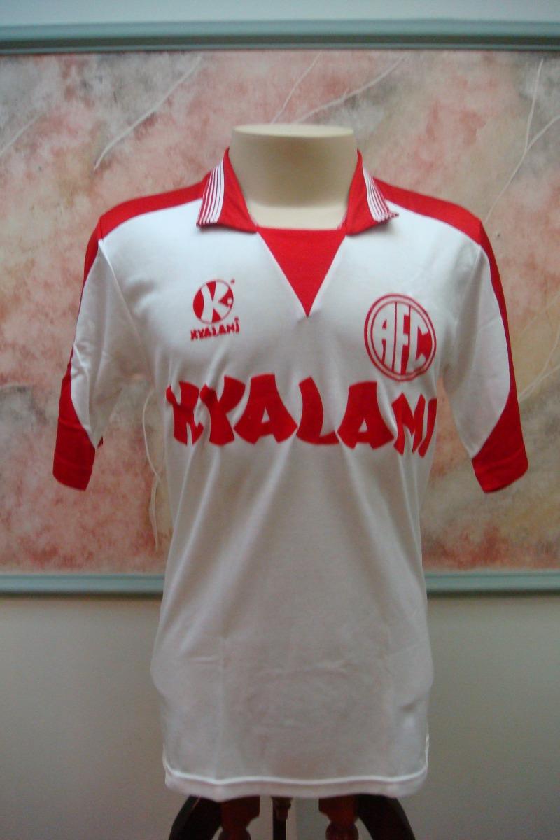 camisa futebol america rio janeiro rj antiga kyalami 29. Carregando zoom. 2c8165dba3c99