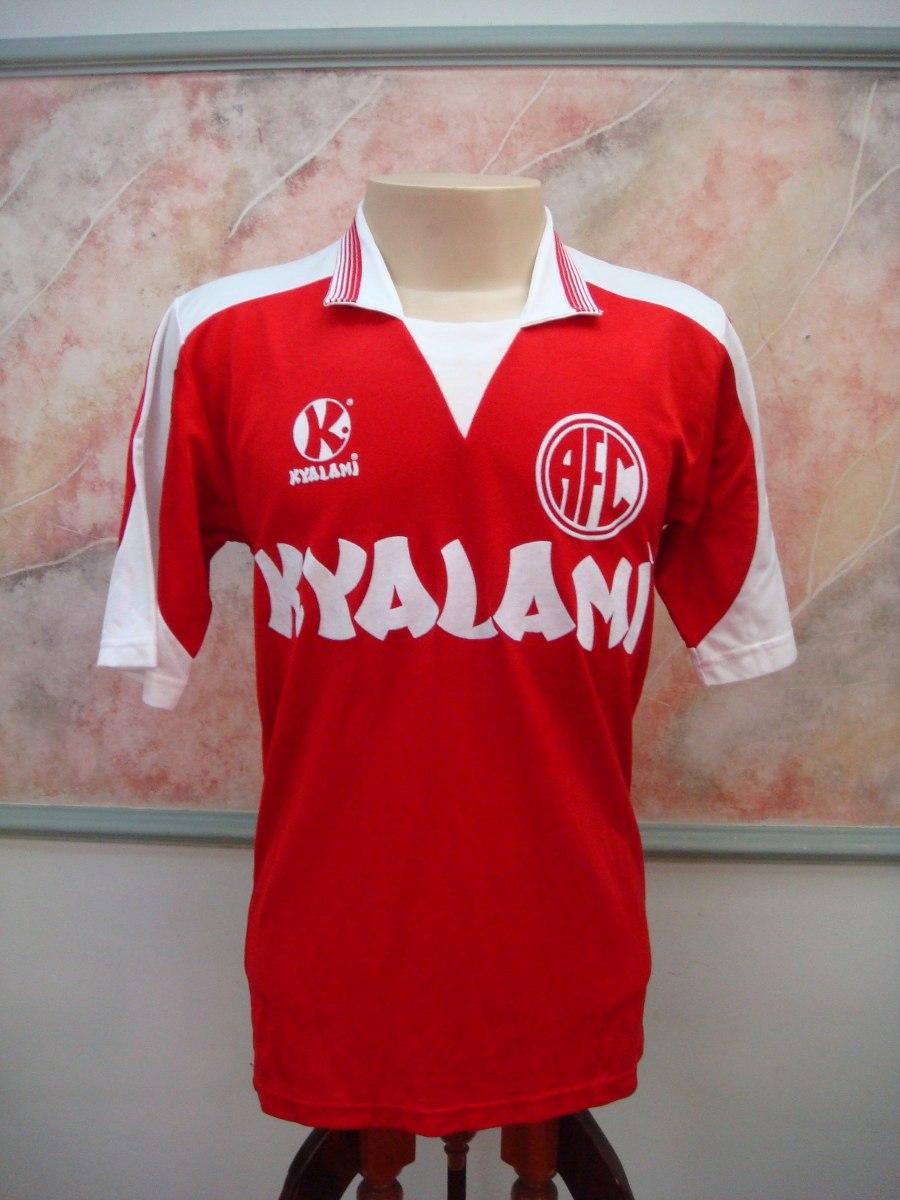 camisa futebol america rio janeiro rj kyalami jogo 30. Carregando zoom. d1fb8380881ed