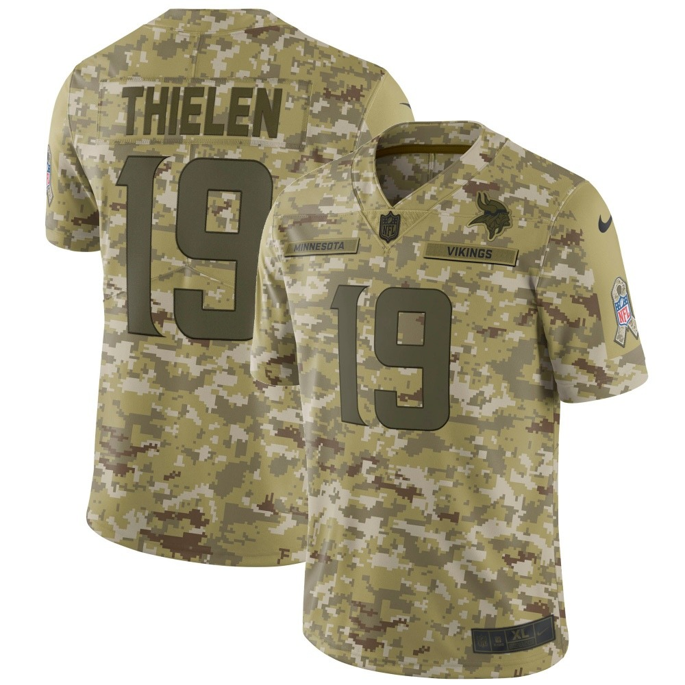 f538433d9 camisa futebol americano minnesota vikings salute to service. Carregando  zoom.