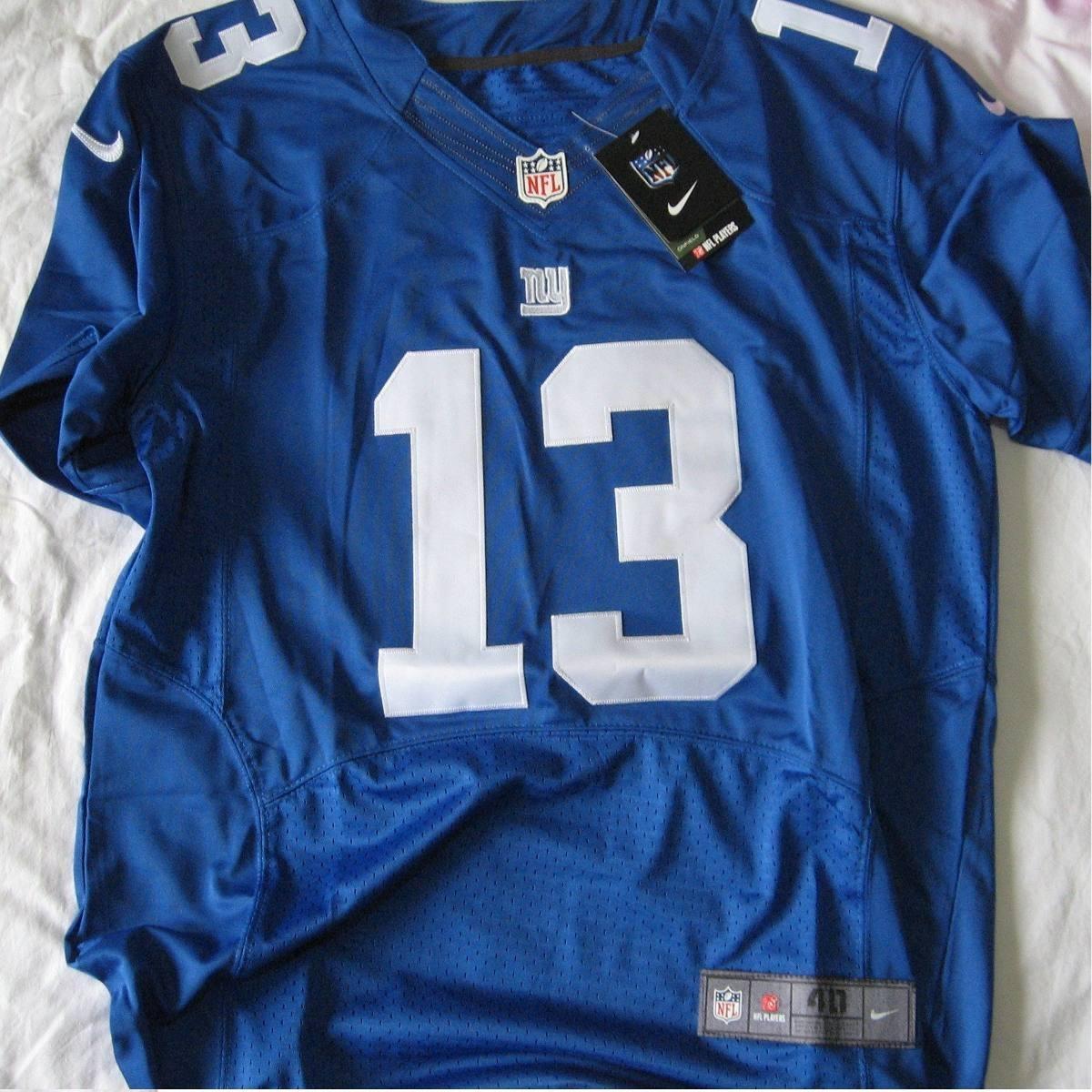 b4362b47f Camisa Futebol Americano Nfl New York Giants Tam M N° 10 - R  199