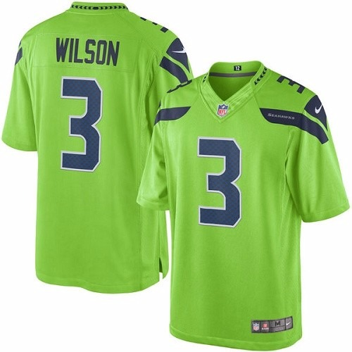 Camisa Futebol Americano Nfl Seattle Seahawks Wilson Sherman - R ... 5c4b196897671