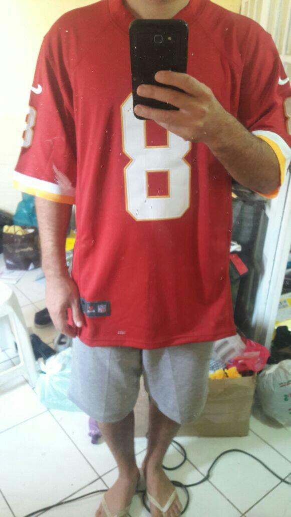 camisa futebol americano nfl washington redskins tam m. Carregando zoom. 44bd6b1d67eb7