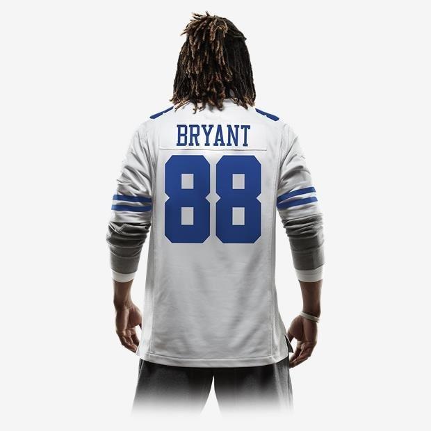 c8c77342dd Camisa Futebol Americano Nike Dallas Cowboys Bryant Original - R ...