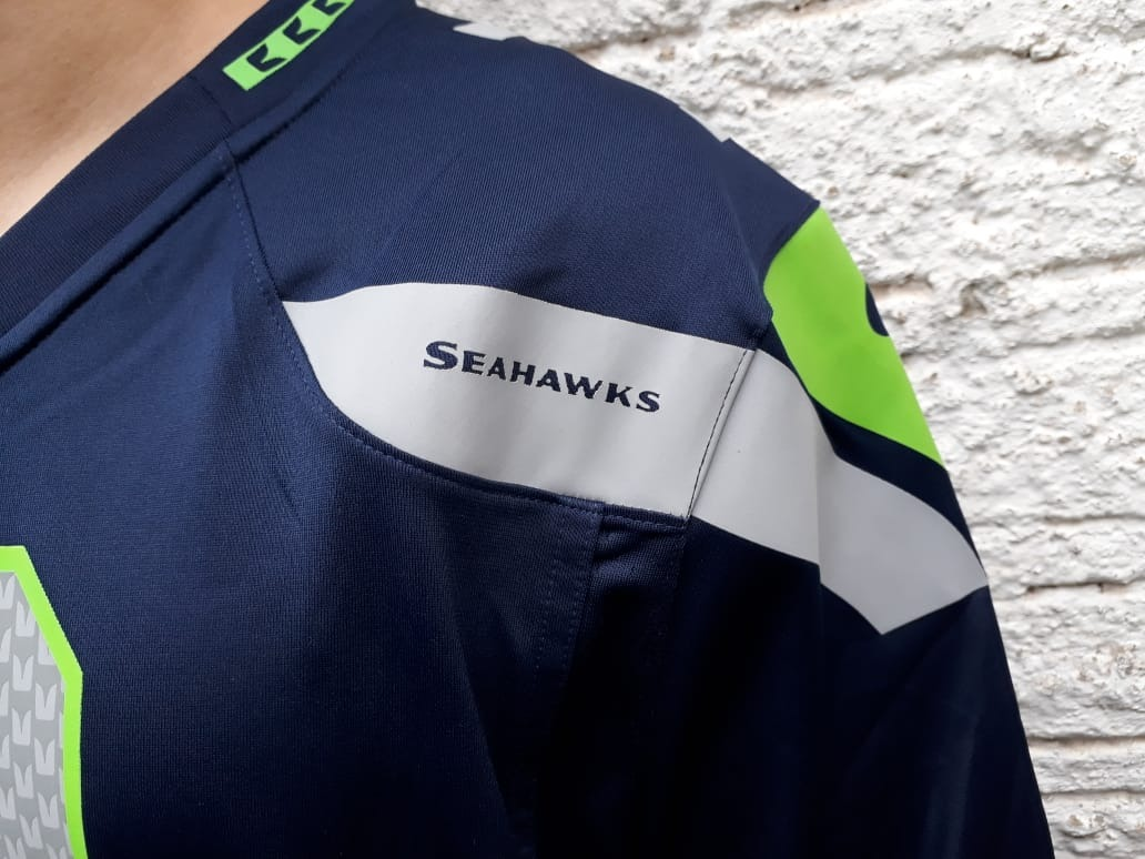 19fb50d9d camisa futebol americano nike seattle seahawks russel wilson. Carregando  zoom.