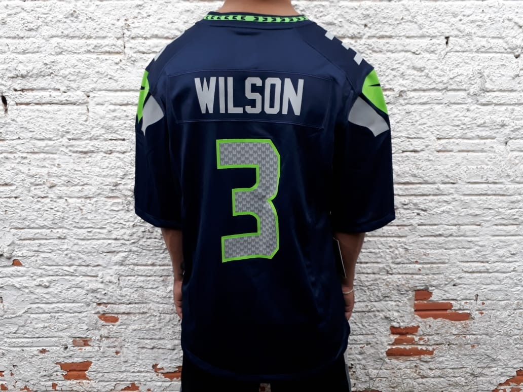 d92080ff80544 camisa futebol americano nike seattle seahawks russel wilson. Carregando  zoom.