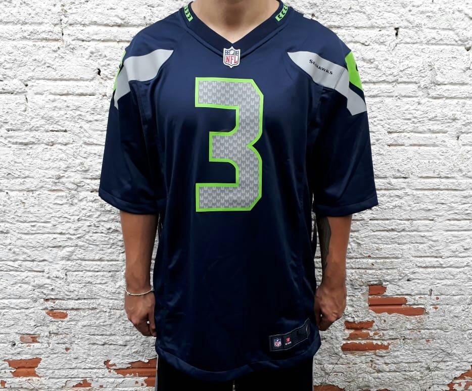 Camisa Futebol Americano Nike Seattle Seahawks Russel Wilson - R .. 51fd36cc53f