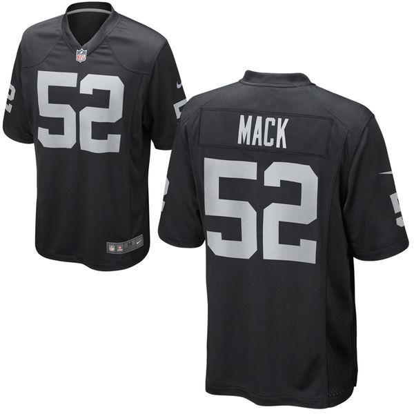 cb494ec91 Camisa Futebol Americano Oakland Raiders Khalil Mack - R  139