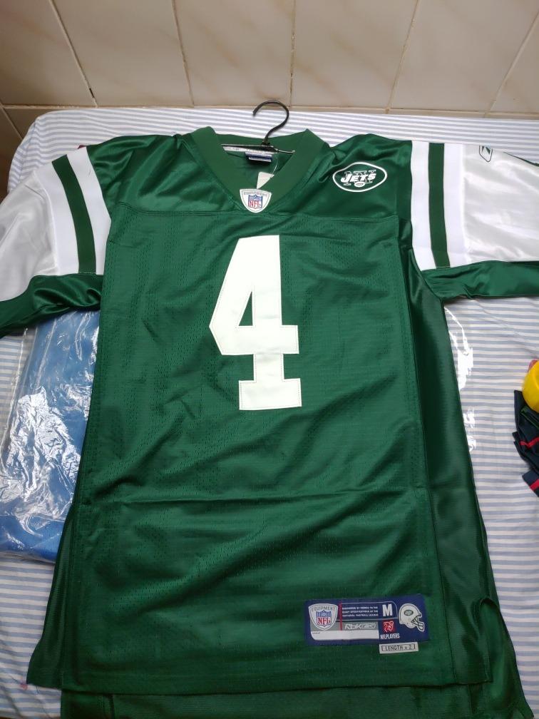 37581191e4516 camisa futebol americano reebok ny jets tamanho m. Carregando zoom.