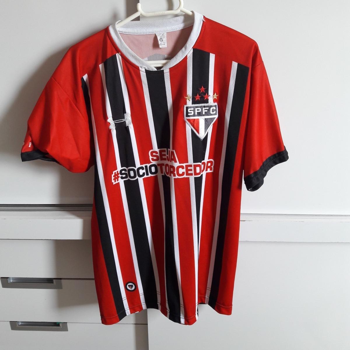 cb6a1f0238909 Camisa Futebol Antiga - Sao Paulo - Tam G (51x73cm) - R  60